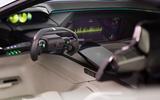 Peugeot Instinct concept steering wheel