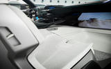Peugeot Instinct concept headrest and interior