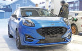 2020 Ford Puma ST prototype - front