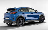 Ford Puma ST as imagined by Autocar - rear