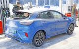 2020 Ford Puma ST prototype - rear