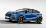 Ford Puma ST as imagined by Autocar - front