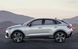 Audi Q3 Sportback revealed - side