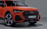 Audi Q3 Sportback revealed - grille
