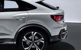 Audi Q3 Sportback revealed - rear