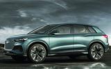 Audi Q4 E-tron - side