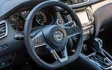 Nissan Qashqai dashboard