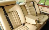 Used car buying guide: Bentley Turbo R - rear seats