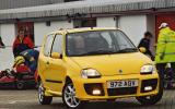 The Fiat Seicento Michael Schumacher only has 54bhp, but it's still fun because it's so light