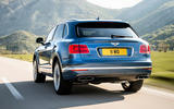 Bentley Bentayga diesel prototype drive