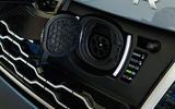 Range Rover P400e PHEV charging port