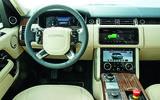 Range Rover P400e PHEV dashboard
