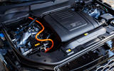 Range Rover P400e PHEV engine bay