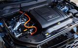 Range Rover P400e PHEV engine bay