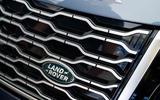 Range Rover P400e PHEV front grille