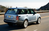 Range Rover P400e PHEV rear