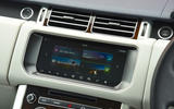 Range Rover infotainment system