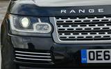 Range Rover xenon headlights