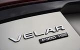 Range Rover Velar badge