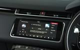 Range Rover Velar infotainment