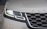 Range Rover Velar lights