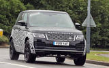 Land Rover Range Rover spy shots