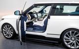Land Rover Range Rover SV Coupé - door open