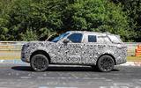 Range Rover prototype Nurburgring side