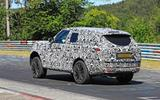 Range Rover prototype Nurburgring rear side