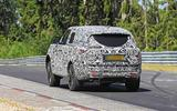 Range Rover prototype Nurburgring rear