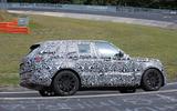 Range Rover prototype Nurburgring side carousel