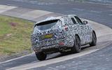 Range Rover prototype Nurburgring rear carousel