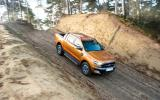 Ford Ranger Wildtrak descending