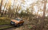 Ford Ranger Wildtrak on muddy terrain