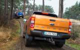 Ford Ranger Wildtrak tailgate