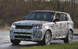 Range Rover Sport SVR 2017