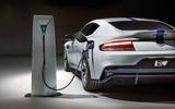 2019 Aston Martin Rapide E  - filling up
