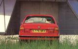E34 BMW 5 Series rear