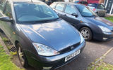 2003 Ford Focus front
