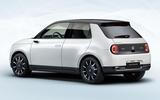 Honda e official production version - rear