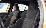 Renault Mégane RS front bucket seats