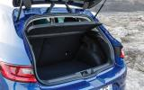 Renault Megane GT boot space
