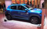 New Delhi show 2020 - Renault K-ZE