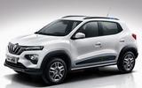 Renault K-ZE white