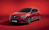 Renault Megane facelift red