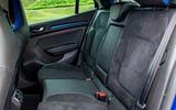 Renault Megane GT Nav rear seats