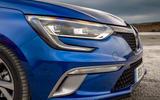 Renault Megane front end