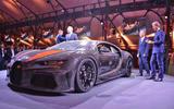 Bugatti Chiron Super Sport 300+ official debut - hero front