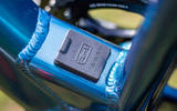 The Ribble Hybrid AL e's standard battery delivers up to 60 miles of charge