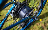 Ribble Hybrid AL e's assistance is delivered from a 250W Mahle Ebikemotion rear hub-mounted motor